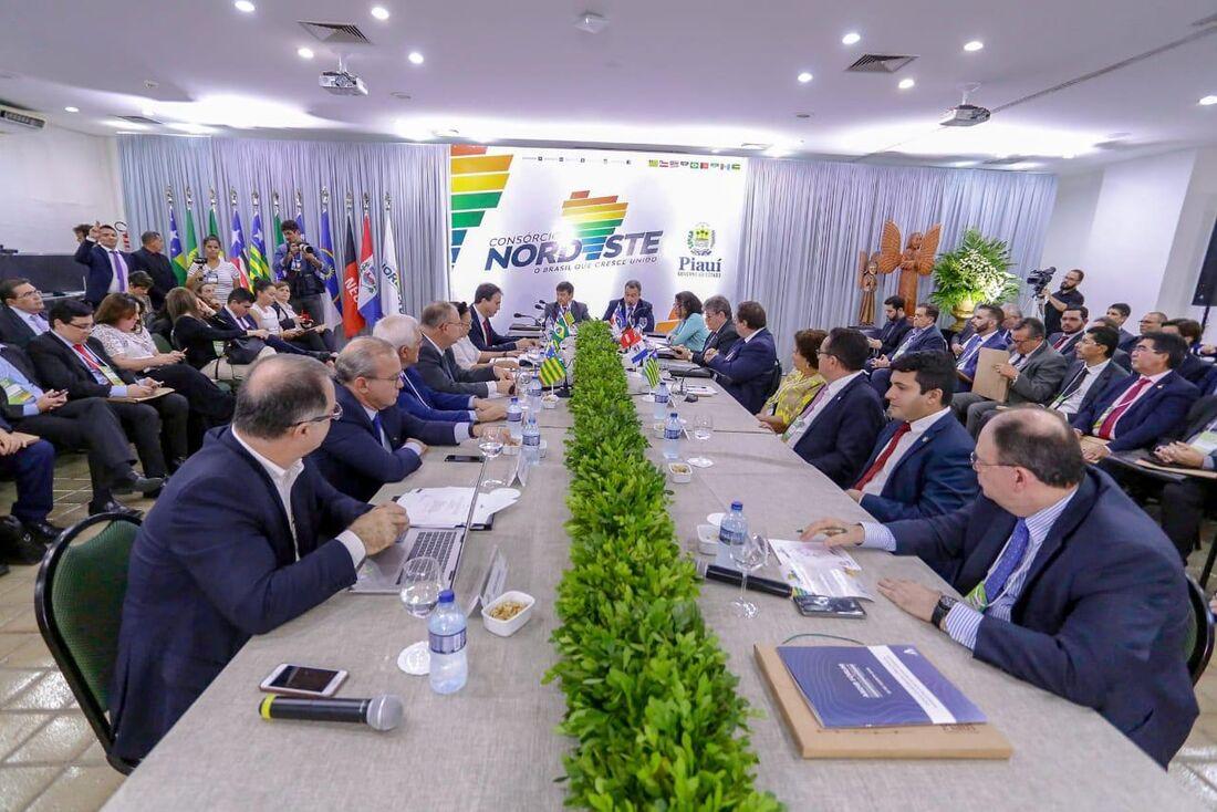 O Consórcio Nordeste foi criado em abril de 2019, a partir de assinatura de protocolo de intenções entre os nove estados que compõem a região