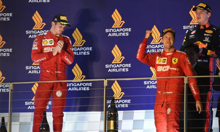 Vettel vence GP de Singapura