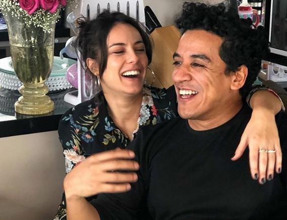 Andréia Horta e Marco Gonçalves