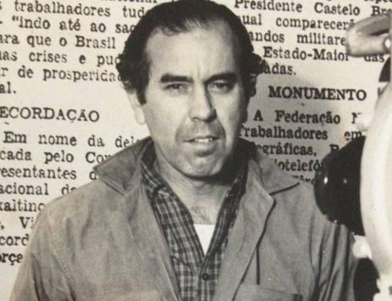 O jornalista Newton Carlos
