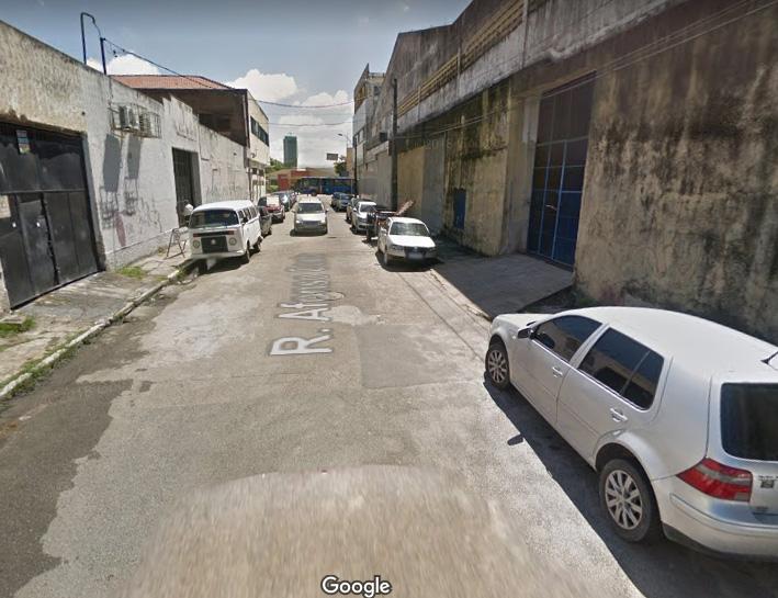 Rua Afonso Costa, no bairro de Santo Amaro