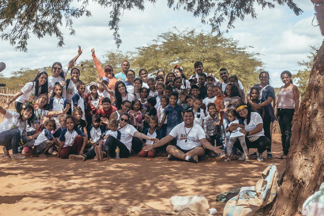Ação do projeto Ciranda Sertaneja