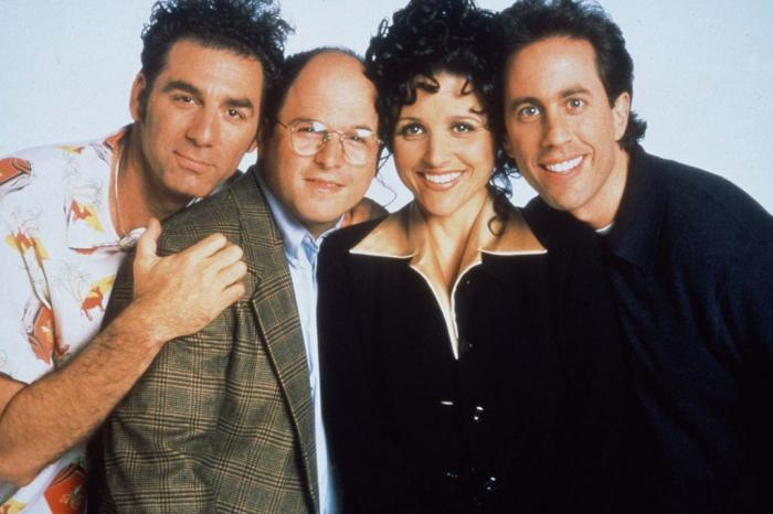 """Personagens da série """"Seinfeld"""""""