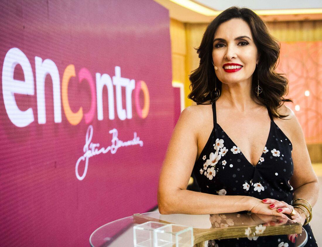 Fátima Bernardes apresentadora da Rede Globo