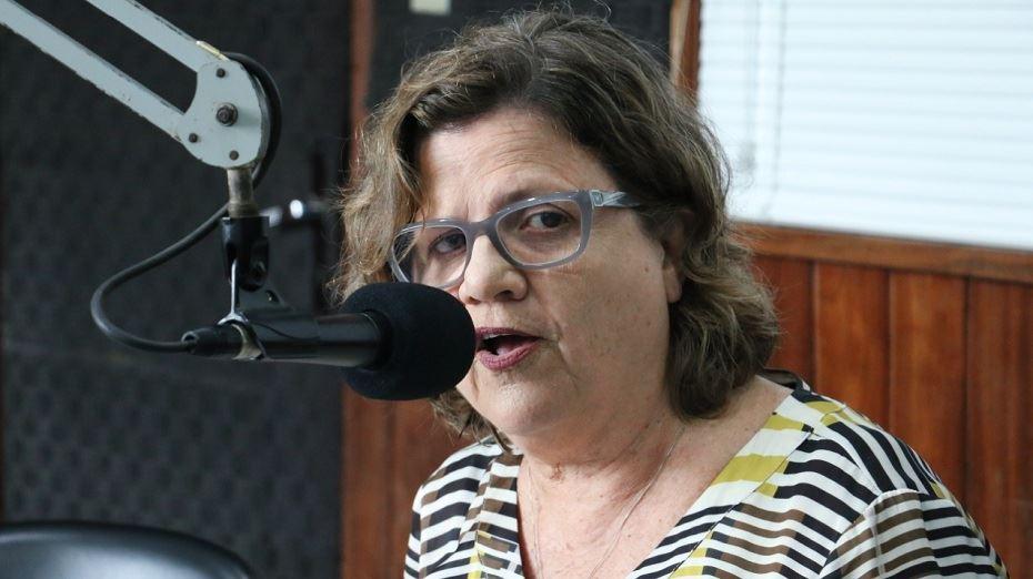 Deputada estadual Teresa Leitão, em entrevista à Rádio Folha