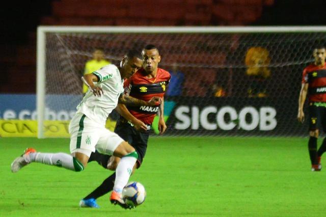 Guilherme não conseguiu levar o Sport a uma reação diante do América/MG