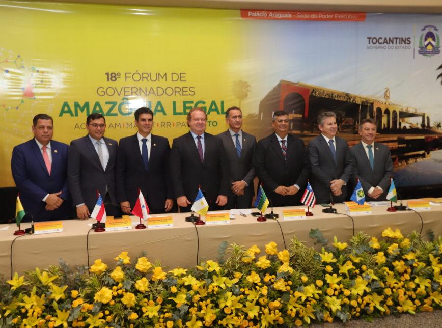18º Fórum de Governadores da Amazônia Legal, em agosto