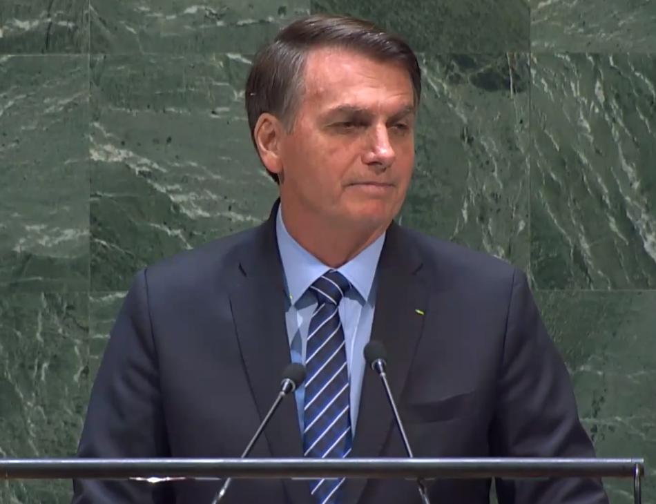 Discurso de Jair Bolsonaro na ONU