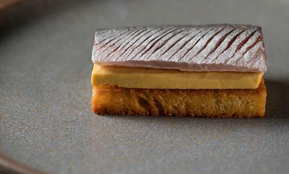 Brioche, foie gras e sardinha: memorável