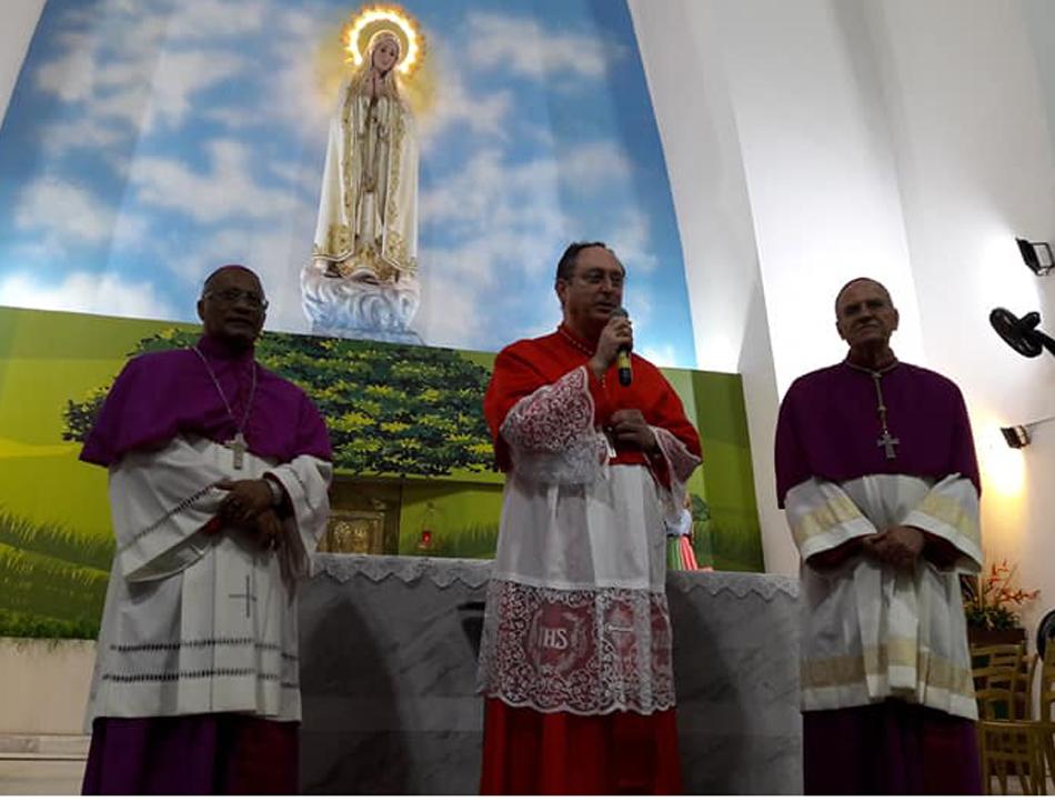 Cardeal dom Sérgio Rocha presidiu a celebração