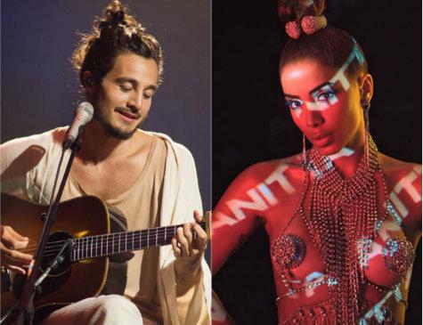 Tiago Iorc e Anitta entre os indicados ao Grammy Latino