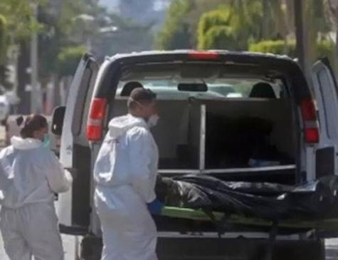 Os corpos foram encontrados em 119 sacos