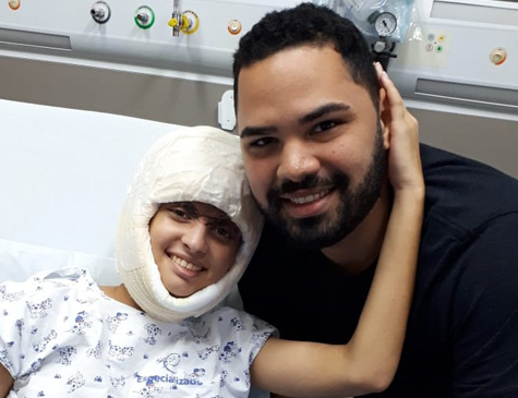 Débora segue estável no Hospital Especializado, em São Paulo