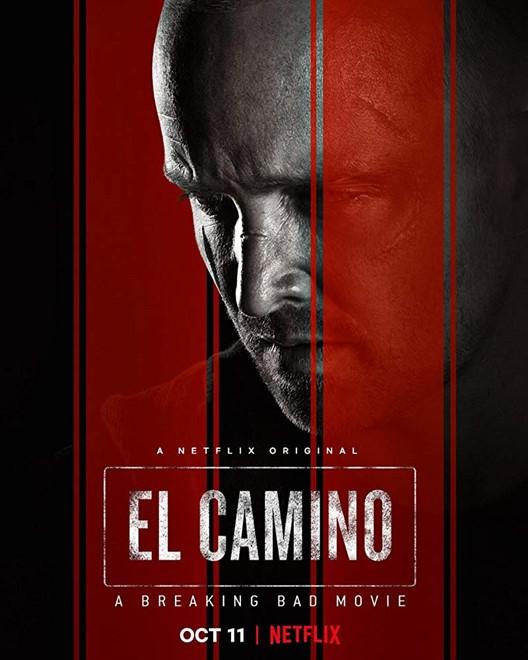 Cartaz de 'El Camino', filme derivado de 'Breaking Bad'