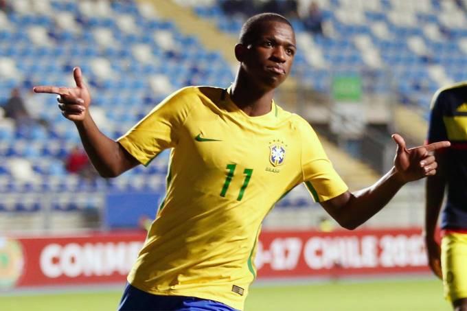 Vinicius Júnior, atacante da seleção