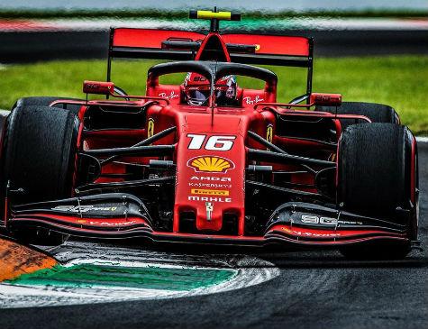 Charles Leclerc venceu GP da Itália, neste domingo (9)