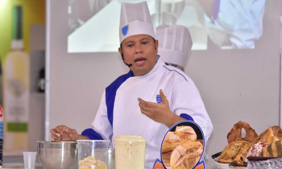 Chef Alex Cascimiro ensinará o preparo de panetone