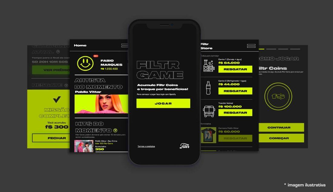 Filtr Game, novo recurso do Filtr, da Sony Music