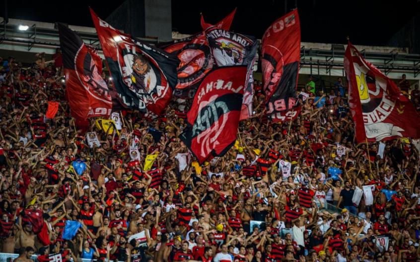 Flamengo Esports durante sorteio do Mundial de LoL