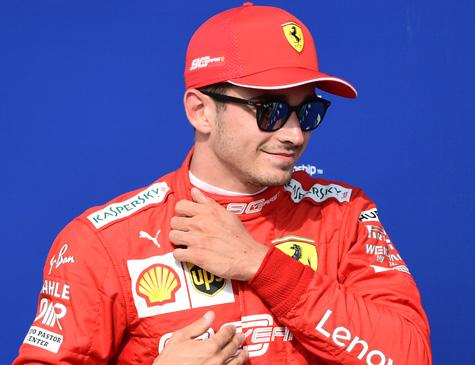 Charles Leclerc, da Ferrari