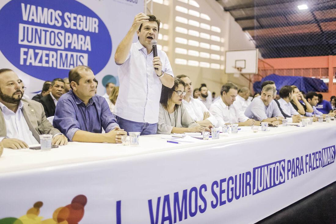 Prefeito do Recife foi anfitrião do evento e reforçou a escuta popular para a formação de um governo mais democrático