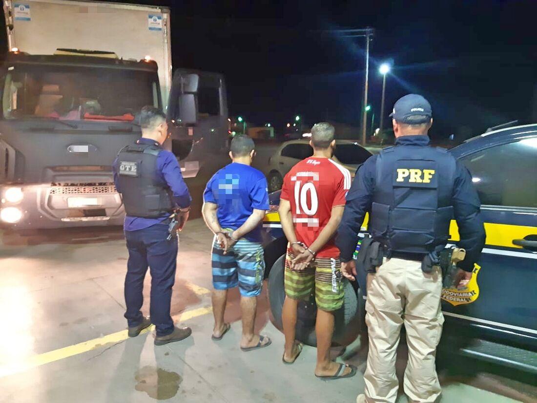 Homem foi preso pela PRF