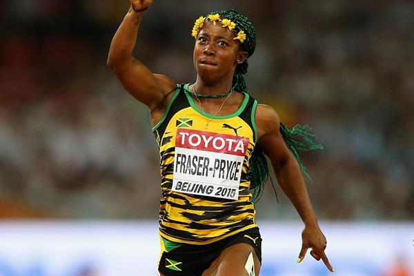 Jamaicana Shelly Ann Fraser-Pryce