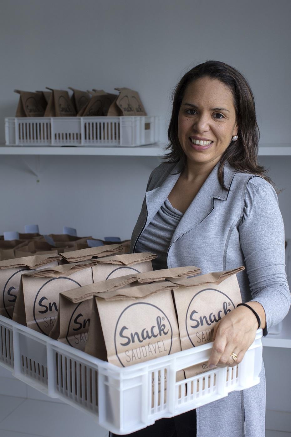 Larissa Souza dos Santos conseguiu crescer o seu negócio por meio das ferramentas