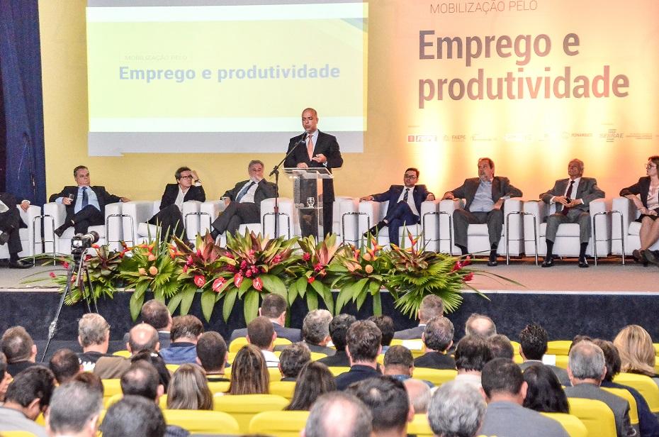 Mobiliza Brasil foi lançado em Pernambuco durante evento no Auditório do Banco do Brasil