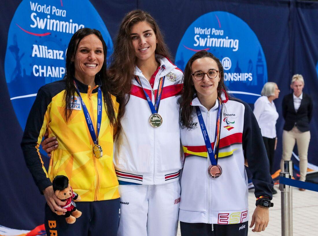Foram cinco medalhas conquistadas no primeiro dia do evento