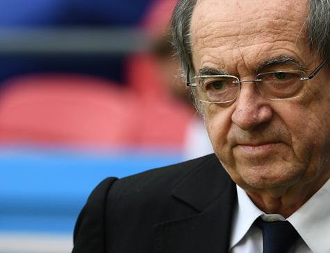 Noël Le Graët, presidente da Federação Francesa