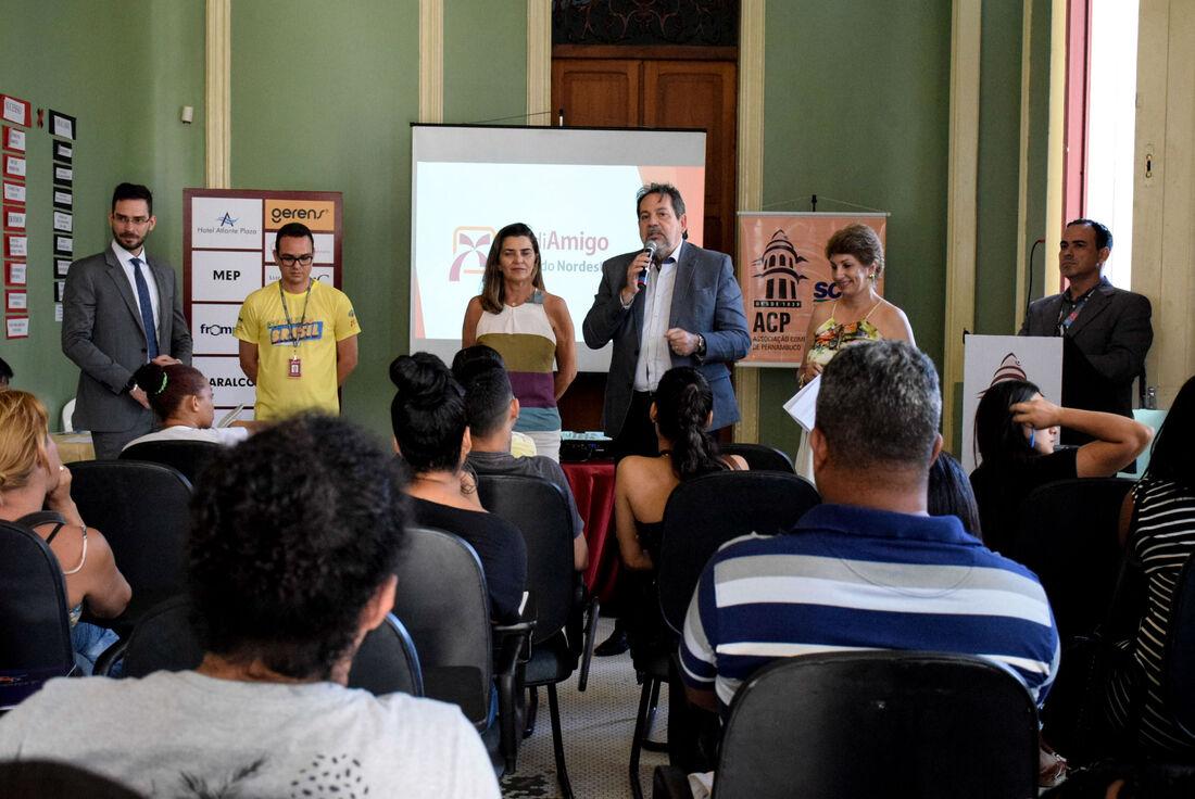 Durante o evento, os empreendedores tiveram a chance de solicitar financiamento de até R$ 21 mil para investir em seus negócios