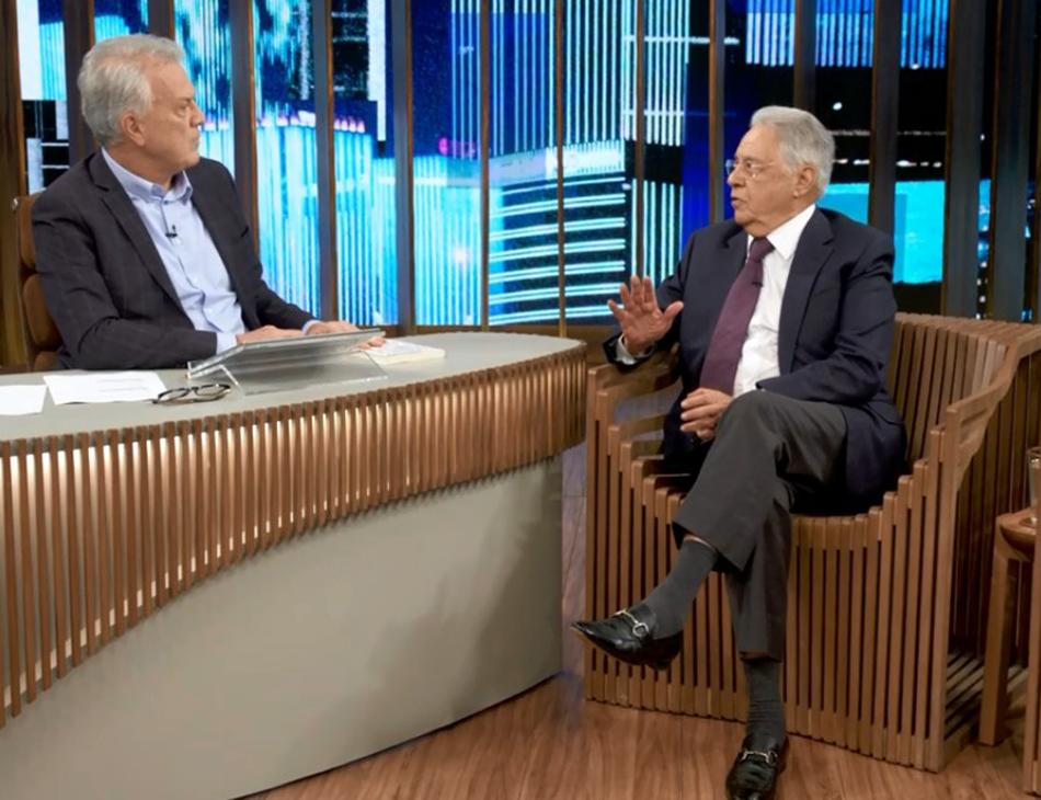 Ex-presidente FHC no 'Conversa com Bial'