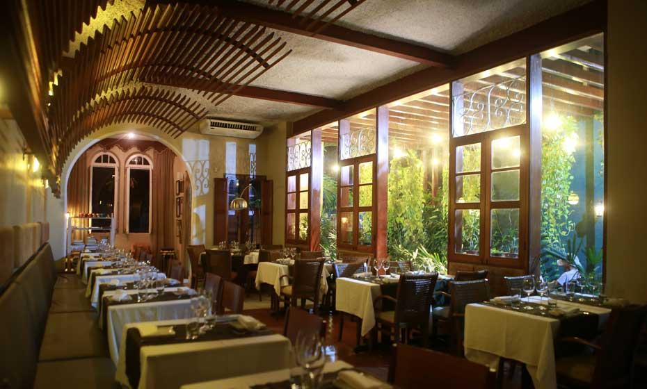 Restaurante é um dos melhores de Pernambuco