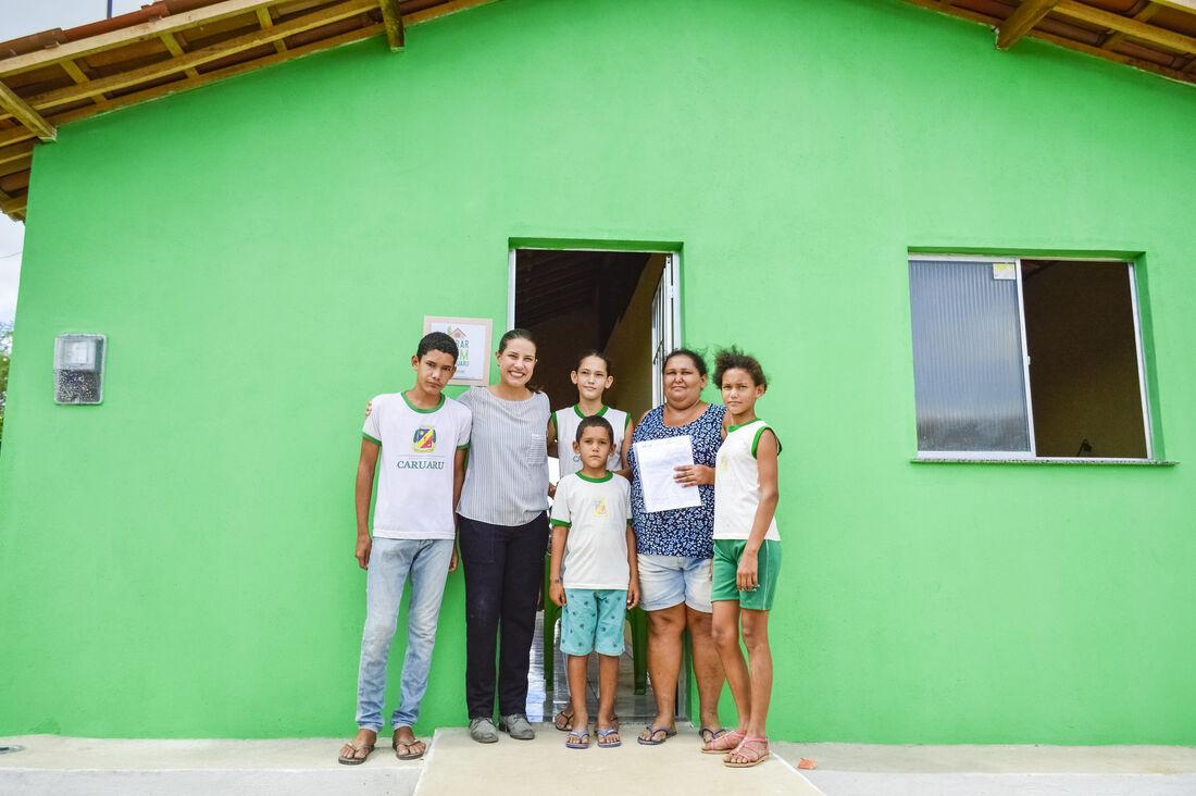 Programa Nacional de Habitação Rural (PNHR) já entregou 108, das 416 moradias previstas para o município
