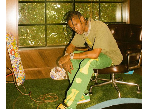 Rapper Travis Scott