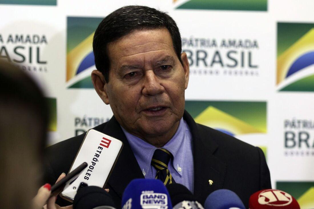 Hamilton Mourão, vice-presidente do governo Jair Bolsonaro