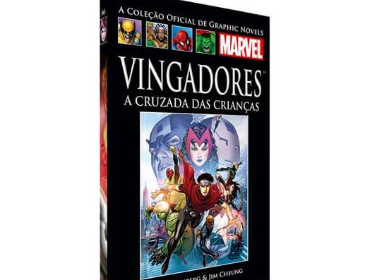 Livro Vingadores - A Cruzada das Crianças