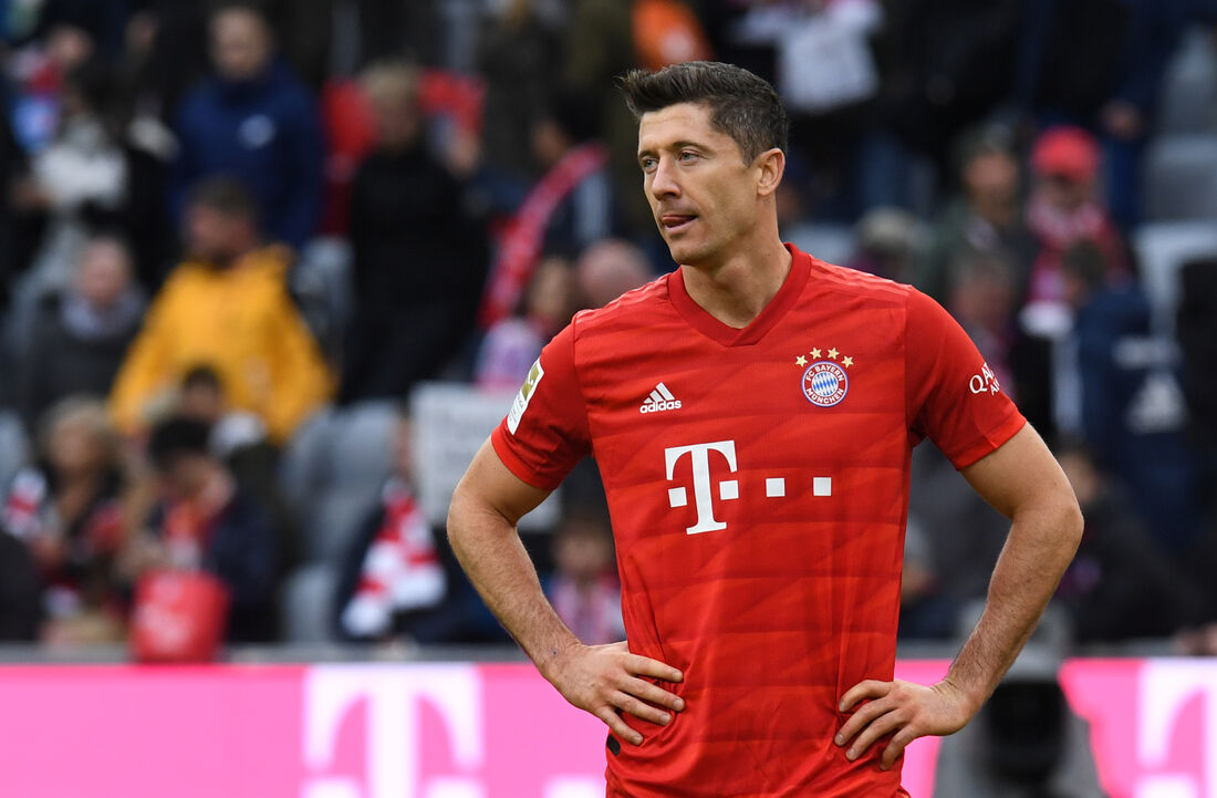 Robert Lewandowski, atacante do Bayern de Munique