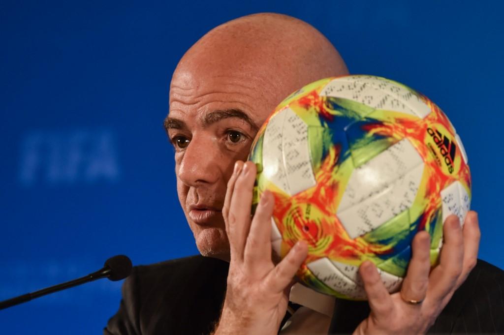 Gianni Infantino,presidente da Fifa