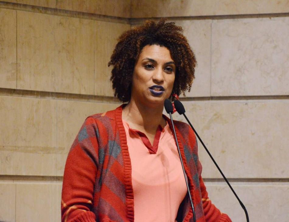 Marielle Franco em sessão da Câmara Municipal do Rio de Janeiro