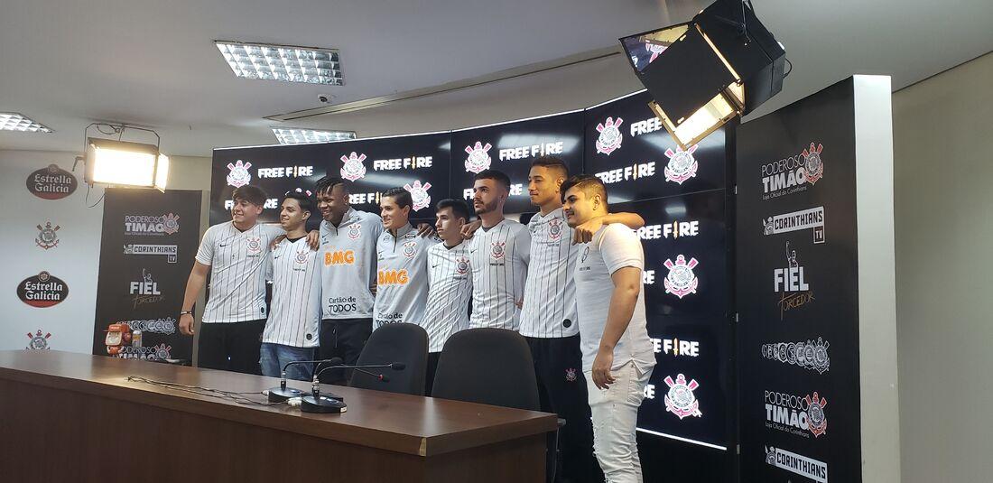 Equipe de Free Fire do Corinthians