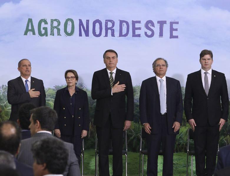 Jair Bolsonaro lança o Plano AgroNordeste