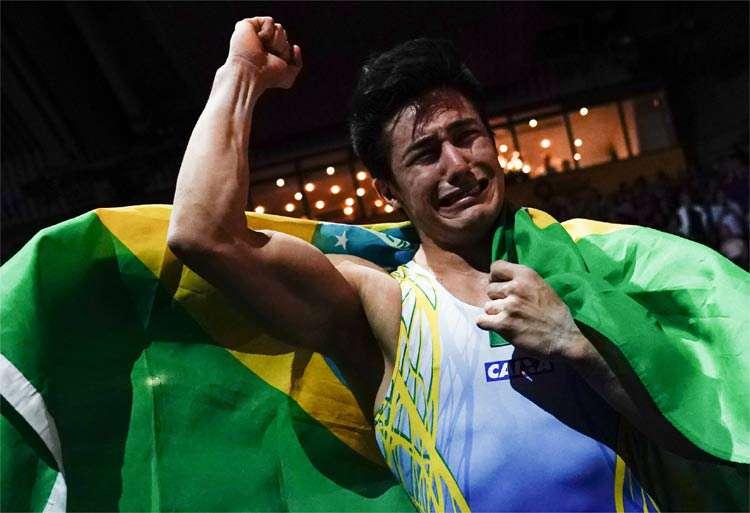 Título é inédito para Nory, que recebeu a medalha de prata nos Jogos Panamericanos de Lima, neste ano.