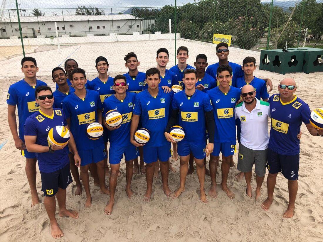 Seleção brasileira sub-19  de vôlei de praia