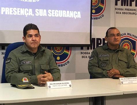 Coletiva sobre esquema de segurança do Enem 2019 em Pernambuco