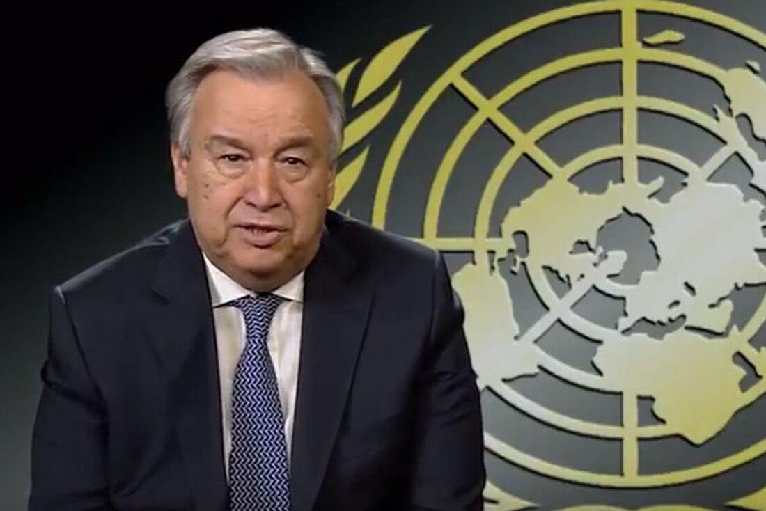 Secretário-geral das Nações Unidas, Antonio Guterres
