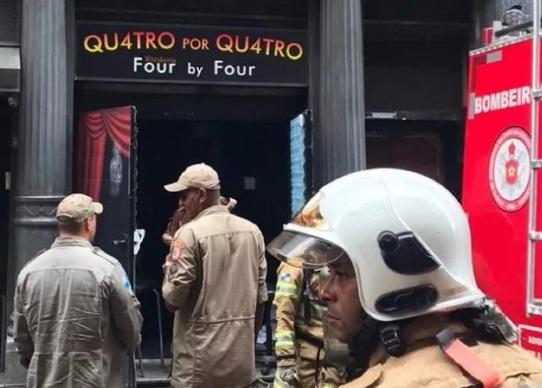 Um quarto militar ficou ferido e está internado no Hospital Municipal Souza Aguiar