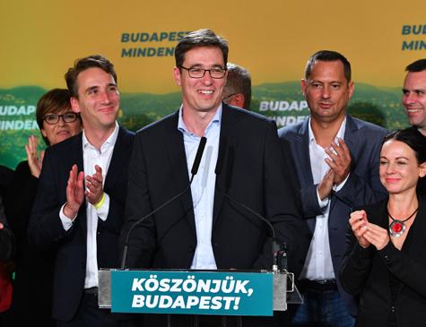 Candidato Gergely Karacsony