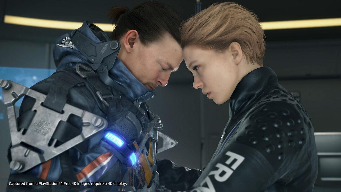 Imagem do Death Stranding, jogo para Playstation 4